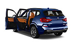 Car images close up view of a 2019 BMW X3 M40i 5 Door SUV doors