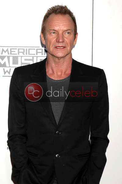 Sting<br /> at the 2016 American Music Awards, Microsoft Theater, Los Angeles, CA 11-20-16<br /> David Edwards/DailyCeleb.com 818-249-4998