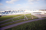 Maeslant Barrier storm surge flood defence, New Waterway, Hook of Holland, Rotterdam, Netherlands