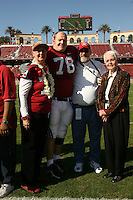 18 November 2006: Jon Cochran during Stanford's 30-7 loss to Oregon State at Stanford Stadium in Stanford, CA.