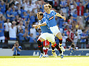 30/05/2009  Copyright  Pic : James Stewart.sct_jspa_07_rangers_v_falkirk.NACHO NOVO CELEBRATES AFTER SCORING THE ONLY GOAL OF THE GAME.James Stewart Photography 19 Carronlea Drive, Falkirk. FK2 8DN      Vat Reg No. 607 6932 25.Telephone      : +44 (0)1324 570291 .Mobile              : +44 (0)7721 416997.E-mail  :  jim@jspa.co.uk.If you require further information then contact Jim Stewart on any of the numbers above.........