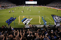 SAN JOSE, CA - SEPTEMBER 25: Chris Wondolowski #8 of the San Jose Earthquakes attends the game in the supporter's section during a Major League Soccer (MLS) match between the San Jose Earthquakes and the Philadelphia Union on September 25, 2019 at Avaya Stadium in San Jose, California.