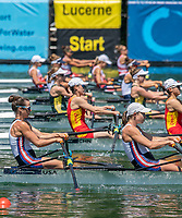 Lucerne, SWITZERLAND, 12th July 2018, Friday View, Area, FISA World Cup series, No.3, Lake Rotsee, Lucerne, © Peter SPURRIER,