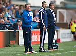 Kilmarnock v St Johnstone...19.09.15  SPFL Rugby Park, Kilmarnock<br /> Gary Locke shouts encouragement<br /> Picture by Graeme Hart.<br /> Copyright Perthshire Picture Agency<br /> Tel: 01738 623350  Mobile: 07990 594431