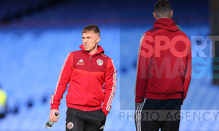 Sheffield United's Ben Osborn during the Premier League match at Selhurst Park, London. Picture date: 1st February 2020. Picture credit should read: Paul Terry/Sportimage