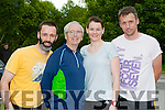 John Treacy the 1984 Olympic silver medal winner with Walter Browne, Mary Griffin and Kevin Casey Currow at the Killarney Parkrun on Saturday