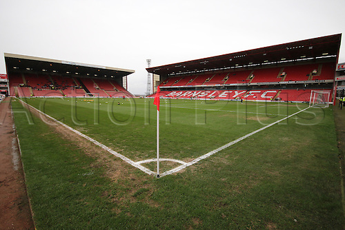 20.02.2016. Oakwell Stadium, Barnsley, England. Skybet League One. Barnsley versus Doncaster Rovers. Oakwell Stadium pre game