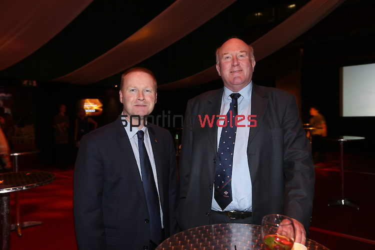 Wales Sport Awards 2013<br /> Jon Morgan & Robert James.<br /> <br /> 09.11.13<br /> ©Steve Pope-SPORTINGWALES
