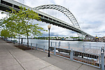 Fremont Bridge and Front Street Waterfront.