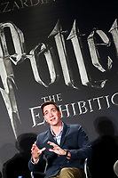 English actor James Phelps, who played the mischievous twins Fred and George Weasley in the Harry Potter movie saga, during the opening of Harry Potter: The Exhibition in Madrid. November 16, 2017. (ALTERPHOTOS/Acero) /NortePhoto.com