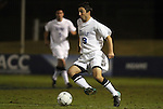 10 November 2010: Duke's Christopher Tweed-Kent. The Duke University Blue Devils played the Boston College Eagles at Koka Booth Stadium at WakeMed Soccer Park in Cary, North Carolina in an ACC Men's Soccer Tournament Quarterfinal game.