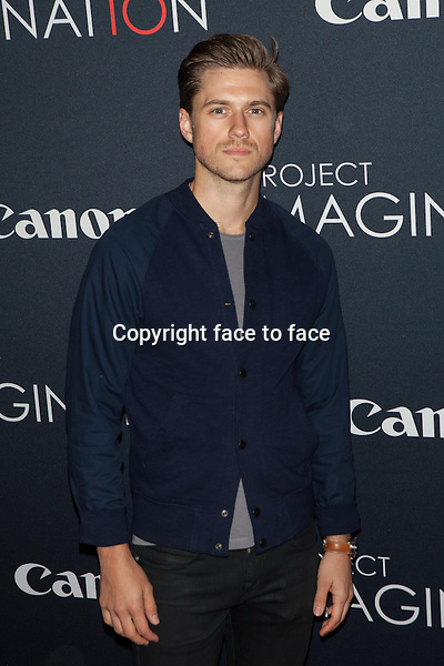 NEW YORK, NY - OCTOBER 24, 2013: Aaron Tveit attends the Premiere Of Canon's Project Imaginat10n Film Festival at Alice Tully Hall on October 24, 2013 in New York City. <br /> Credit: MediaPunch/face to face<br /> - Germany, Austria, Switzerland, Eastern Europe, Australia, UK, USA, Taiwan, Singapore, China, Malaysia, Thailand, Sweden, Estonia, Latvia and Lithuania rights only -
