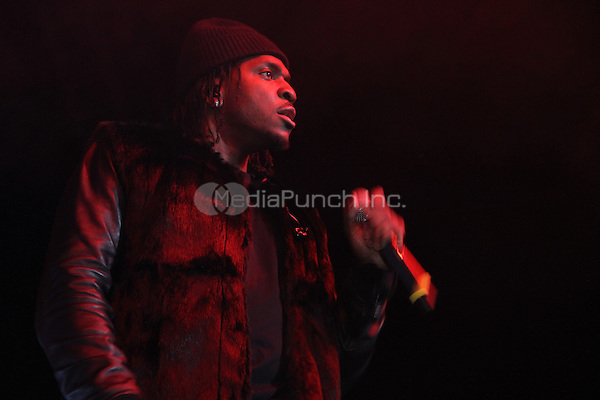 NEW YORK, NY - FEBRUARY 5, 2014<br /> <br /> Pusha T performs at the 2 Good To Be Tru Tour at the Roseland Ballroom, February 5, 2012 in New York City.<br /> <br /> <br /> <br /> Walik Goshorn / MediaPunch