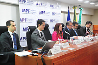Curitiba (PR), 10/03/202 - O Mnisterio Publico Federal (MPF) realiza coletiva de imprensa para mostrar o resultado apos seis anos da forca-tarefa da Lava Jato nesta terca-feira(10) em Curitiba.. (Foto: Ernani Ogata/Codigo 19/Codigo 19)