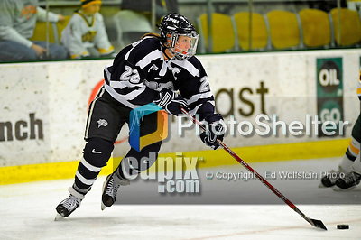 8 February 2009: University of New Hampshire Wildcats' defenseman Kacey Bellamy, a Senior from Westfield, MA, in action against the University of Vermont Catamounts in the second game of a weekend series at Gutterson Fieldhouse in Burlington, Vermont. The Wildcats defeated the lady Catamounts 6-2 to sweep the 2-game series. Mandatory Photo Credit: Ed Wolfstein Photo