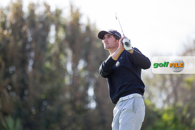 Jordi Panes Capdevila (ESP) during the 2nd round of the European Nations Cup, Real Club de Golf Sotogrande, Paseo del Parque, 11310 Sotogrande, C&aacute;diz  30/03/2017.<br /> Picture: Golffile | Fran Caffrey<br /> <br /> <br /> All photo usage must carry mandatory copyright credit (&copy; Golffile | Fran Caffrey)