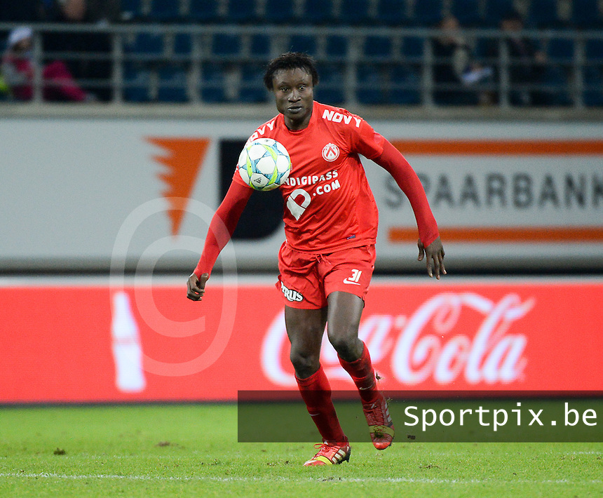 AA Gent - KV Kortrijk : Elimane Coulibaly <br /> foto VDB / Bart Vandenbroucke