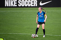 Kansas City, MO - Saturday June 17, 2017: Becky Sauerbrunn during a regular season National Women's Soccer League (NWSL) match between FC Kansas City and the Seattle Reign FC at Children's Mercy Victory Field.