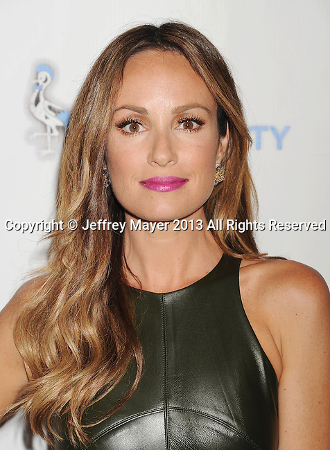 BEVERLY HILLS, CA- SEPTEMBER 06: TV correspondent Catt Sadler attends the Generosity Water's 5th annual night of Generosity benefit held at the Beverly Hills Hotel on September 6, 2013 in Beverly Hills, California.