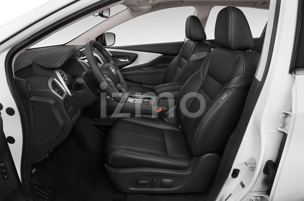 Front seat view of 2019 Nissan Murano SL 5 Door SUV Front Seat  car photos