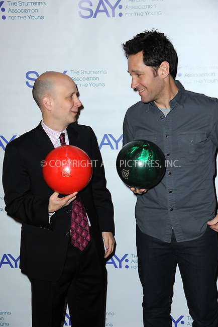 WWW.ACEPIXS.COM<br /> January 12, 2015 New York City<br /> <br /> Taro Alexander and Paul Rudd attends the Third Annual Paul Rudd All-Star Bowling Benefit for The Stuttering Association for the Young (SAY) at Lucky Strike Lanes &amp; Lounge on January 12, 2015 in New York City.<br /> <br /> Please byline: Kristin Callahan/AcePictures<br /> <br /> ACEPIXS.COM<br /> <br /> Tel: (212) 243 8787 or (646) 769 0430<br /> e-mail: info@acepixs.com<br /> web: http://www.acepixs.com