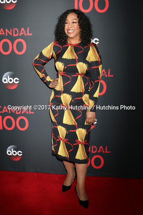 "LOS ANGELES - APR 8:  Shonda Rhimes at the ""Scandal"" 100th Show Party at Fig & Olive Resturant on April 8, 2017 in West Hollywood, CA"