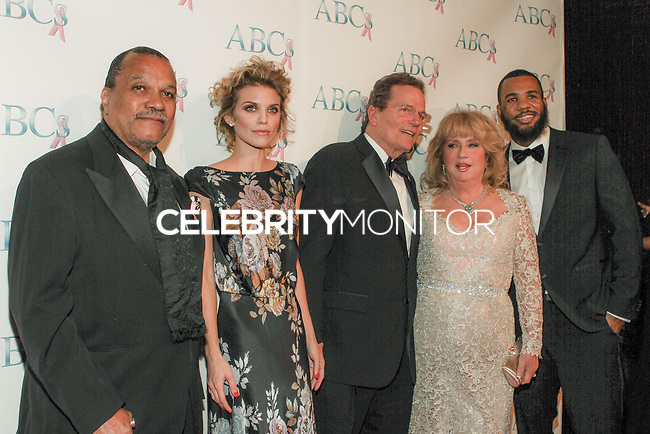 BEVERLY HILLS, CA, USA - NOVEMBER 22: Billy Dee Williams, AnnaLynne McCord, Patrick Wayne, Gloria Gebbia, The Game arrive at the Associates For Breast And Prostate Cancer Studios 25th Annual Talk Of The Town Black Tie Gala held at The Beverly Hilton Hotel on November 22, 2014 in Beverly Hills, California, United States. (Photo by Rudy Torres/Celebrity Monitor)
