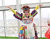 Dick Whittington <br /> publicity pictures <br /> taken from The View From The Shard, London Bridge Quarter, London, Great Britain <br /> press photocall <br /> 17th November 2016 <br /> <br /> <br /> Matthew Kelly as Sarah the Cook <br /> <br /> <br /> <br /> Photograph by Elliott Franks <br /> Image licensed to Elliott Franks Photography Services