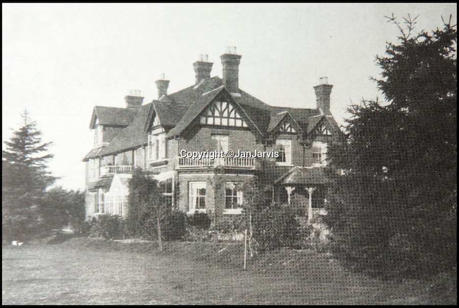 BNPS.co.uk (01202 558833)<br /> Pic: JanJarvis/BNPS<br /> <br /> The lodge back in the 1860's.<br /> <br /> A lot of bang for your buck...<br /> <br /> A former royal hunting lodge that went on to become a world-renowned gunpowder factory has exploded onto the property market.<br /> <br /> Eyeworth Lodge, in the picturesque surroundings of Fritham in the New Forest, was the perfect isolated place for the risky business that saw lots of men injured or even killed, but it is now a stunning country home for anyone who wants to escape to the country.<br /> <br /> The seven-bedroom home, which has eight acres of land, is on the market with Strutt & Parker for £4million.