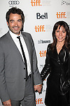 Jon Tenney & wife attending the The 2012 Toronto International Film Festival.Red Carpet Arrivals for 'Thanks For Sharing' at the Ryerson Theatre in Toronto on 9/8/2012