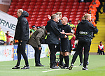 Chris Wilder manager of Sheffield Utd being sent to the stands during the Championship match at Bramall Lane Stadium, Sheffield. Picture date 16th September 2017. Picture credit should read: Jamie Tyerman/Sportimage