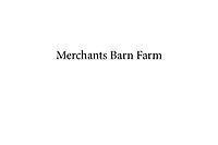 Merchants Barn Farm