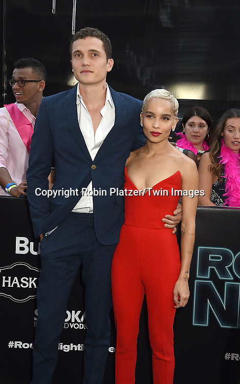 Zoe Kravitz and boyfriend attends the &quot;Rough Night&quot; World Premiere on June 12, 2017 at AMCLowes Lincoln Square 13 in New York, New York, USA.<br /> <br /> photo by Robin Platzer/Twin Images<br />  <br /> phone number 212-935-0770
