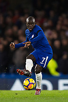 Chelsea's Ngolo Kante in action <br /> <br /> Photographer Craig Mercer/CameraSport<br /> <br /> The Premier League - Chelsea v Crystal Palace - Saturday 10th March 2018 - Stamford Bridge - London<br /> <br /> World Copyright &copy; 2018 CameraSport. All rights reserved. 43 Linden Ave. Countesthorpe. Leicester. England. LE8 5PG - Tel: +44 (0) 116 277 4147 - admin@camerasport.com - www.camerasport.com