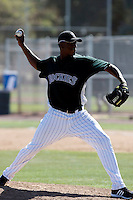 Edgmer Escalona - Colorado Rockies - 2009 spring training.Photo by:  Bill Mitchell/Four Seam Images