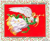 Ingrid, HOLY FAMILIES, HEILIGE FAMILIE, SAGRADA FAMÍLIA, paintings+++++,USISOA05C2,#XR# angels ,vintage
