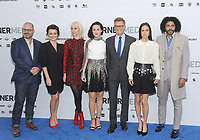 NEW YORK, NY - MAY 15:Graeme Manson, Alison Wright, Mickey Sumner, Lena Hall, Jennifer Connelly and Daveed Diggs attends the 2019 WarnerMedia Upfront presentation at Madison Square Garden   on May 15, 2019 in New York City.        <br /> CAP/MPI/JP<br /> ©JP/MPI/Capital Pictures