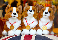 Royal corgies souvenir on sale in Windsor, UK on Saturday February 3rd 2018<br /> CAP/ROS<br /> <br /> CAP/ROS<br /> &copy;ROS/Capital Pictures