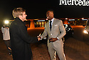 New Orleans Saints Wide Receiver Brandin Cooks surprises three local heroes with new Mercedes-Benz vehicles for the brand's 10 Years Stronger initiative at the Mercedes-Benz Superdome on Monday, Nov. 23, 2015 in New Orleans, La.
