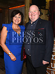 Niall and Elaine Kerr at the Ardee Traders Dinner in Muldoons. Photo:Colin Bell/pressphotos.ie