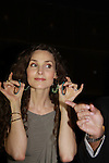 Alicia Minshew auction her earrings at All My Children's Good Night Pine Valley was held on September 17, 2011 at Prohibition, New York City, New York.  (Photo by Sue Coflin/Max Photos)