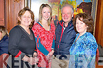 Pictured at the Dochas Drama Group quiz in the Killarney Avenue Hotel on Thursday night were Patricia McSherry, Jana Poller, Don Stack and Mary Murphy.