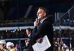 Stockholm 2013-12-07 Ishockey Elitserien AIK - Skellefte&aring; AIK :  <br /> Skellefte&aring;s assisterande tr&auml;nare Bert Robertsson grimaserar<br /> (Foto: Kenta J&ouml;nsson) Nyckelord:  AIK Skellefte&aring; SAIK portr&auml;tt portrait