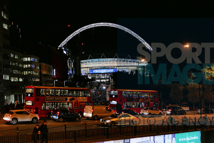 A general view of Wembley stadium during the Champions League group E match at the Wembley Stadium, London. Picture date November 2nd, 2016 Pic David Klein/Sportimage