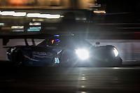 Night action, #90 Corvette DP, Richard Westbrook, Michael Valiante, Mike Rockenfeller 12 Hours of Sebring, Sebring International Raceway, Sebring, FL, March 2015.  (Photo by Brian Cleary/ www.bcpix.com )