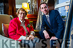 Holocaust survivor Eva Schloos, who is author and stepsister of Anne Frank and Ryan Tubridy, which was part of International Women's Day Kerry event put on by the Kerry Businesswomen's Network and the Bon Secours Hospital at Ballygarry House Hotel & Spa, Tralee on Tuesday evening last.