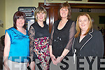 AWARDS NIGHT: Enjoying the Na Gaeil GLC annual social and senior awards night at the Na Gaeil clubhouse Tralee on Saturday l-r: Catherine O'Connor, Helen Brazil, Betty Culloty and Niamh Burke.