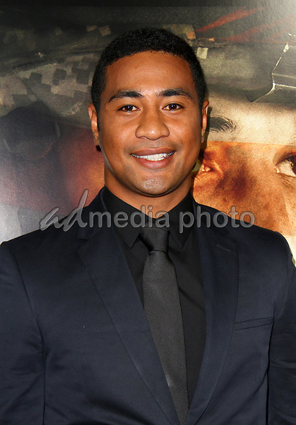 "23 October 2017 - Los Angeles, California - Beulah Koale. ""Thank You For Your Service"" Premiere held at the Regal L.A. Live Theatre in Los Angeles. Photo Credit: AdMedia"