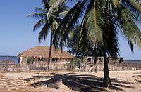 Afrique/Afrique de l'Ouest/Sénégal/Parc National de Basse-Casamance/Kachouane : Cases