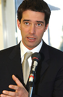 Andre Boisclair<br /> <br /> in 2002.<br /> <br /> Photo : Jacques Pharand<br />  -  agence quebec presse